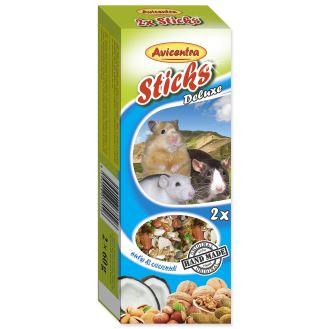 Tyčinky AVICENTRA ořechové pro malé hlodavce 2ks