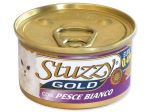 Konzerva STUZZY Cat Gold bílá ryba 85g