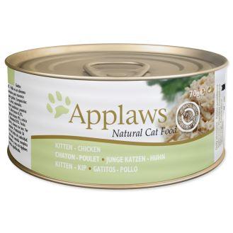 APPLAWS konzerva Kitten Chicken 70g