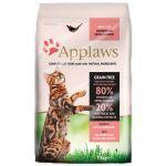 APPLAWS Dry Cat Chicken & Salmon - granule pro kočky s lososem 7,5kg + obojek Diaz 35cm