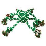 Přetahovadlo DOG FANTASY chobotnice zeleno-bílá 45cm
