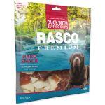 Pochoutka RASCO Premium uzle bůvolí 5cm s kachním masem 500g