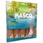 Pochoutka RASCO Premium tyčinky bůvolí L vel. obalené kuřecím masem 500g