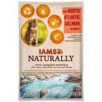 Kapsička IAMS Cat Naturally with North Atlantic Salmon in Gravy 85g