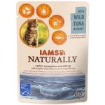 Kapsička IAMS Cat Naturally with Wild Tuna in Gravy 85g