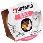 Kalíšek ONTARIO Fresh Brunch Kitten Chicken 80g
