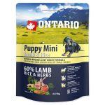 ONTARIO Puppy Mini Lamb & Rice 750g