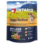 ONTARIO Puppy Medium Lamb & Rice 750g