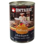 Konzerva ONTARIO Culinary Chickpea, Chicken and Curry 400g