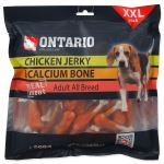 Snack ONTARIO Dog Chicken Jerky + Calcium 500g