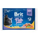 BRIT Premium Cat Fish Plate kapsičky 400g