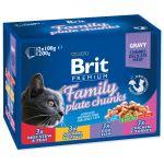 BRIT Premium Cat Family Plate kapsičky 1200g