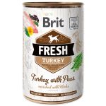 Konzerva BRIT Fresh Turkey with Peas 400g
