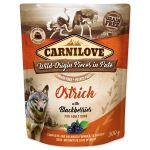 Carnilove Dog Pouch Paté Ostrich with Blackberries 300g