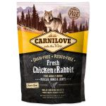 CARNILOVE Fresh Chicken & Rabbit Muscles, Bones & Joints for Adult dogs 1,5kg