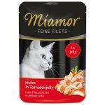 Kapsička MIAMOR Feine filets kuře + rajče v želé 100g