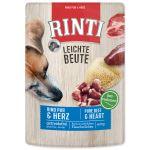 Kapsička RINTI Leichte Beute hovězí + kuřecí srdíčka 400g