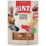 Kapsička RINTI Leichte Beute hovězí + jehně 400g
