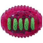 Hračka DOG FANTASY rugby míč gumový růžový 8cm
