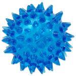 Hračka DOG FANTASY míček pískací modrý 5cm