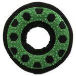 Hračka DOG FANTASY Hextex kruh zelená 13cm
