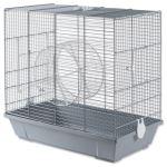 Klec SMALL ANIMAL Bořek pro veverky šedá 50,5x28x47cm