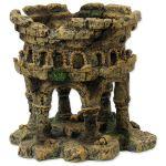 Dekorace AQUA EXCELLENT Zřícenina hradu 12,5cm