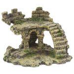 Dekorace AQUA EXCELLENT Zřícenina hradu 13x9,7x9,5cm