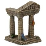 Dekorace AQUA EXCELLENT Zřícenina chrámu 7,5cm