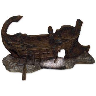 Aqua Excellent  Dekorace akvarijní Torzo lodi 29,5 x 17 x 15,5