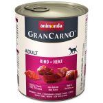Konzerva ANIMONDA Gran Carno hovězí + srdce 800g