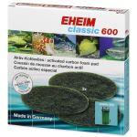 Náplň EHEIM molitan uhlíkový jemný Classic 600