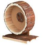 Natural Living - kolotoč dřevěný pro myši a křečky 20 cm