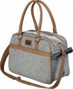 Přepravní taška HELEN 19x28x40cm šedá