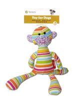E.T. toy,textilni hracka, duhova barva, 34cm
