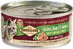 Carnilove White konzerva Mus Meat Duck & Pheasant Cats 100g