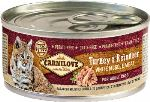 Carnilove White konzerva Mus Meat Turkey & Reindeer Cats 100g