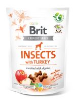 Brit Care Dog Crunchy Cracker Insects with Turkey and Apples 200g