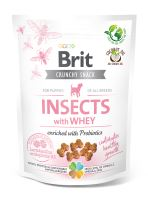 Brit Care Dog Crunchy Cracker Puppy Insects with Whey enriched with Probiotics 200g