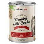 Chicopee Adult Gourmet drůbeží, krabí konzerva pro kočky 400g
