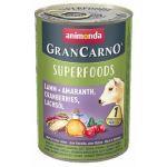 GRANCARNO Superfoods jehněčí,amarant,brusinky,los.olej 400 g pro psy