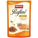 Kapsička ANIMONDA Rafine Soupe kuřecí + kachna + těstoviny 100g