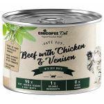 Chicopee Kitten paté hovězí, kuřecí, zvěřina konzerva pro koťata 195g