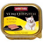 Paštika ANIMONDA Vom Feinsten kitten drůbeží 100g